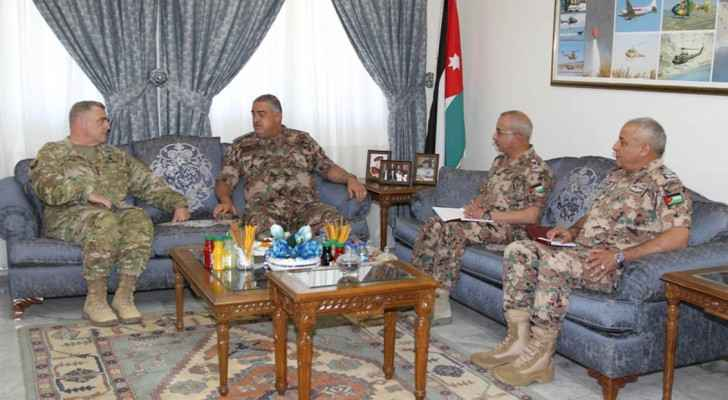 Freihat and delegates discussed regional and international developments