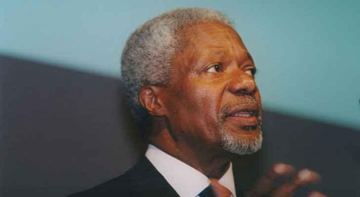 King condoles UN Secretary General over the passing away of Kofi Annan
