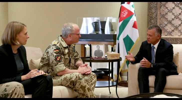 The meeting focused on coordinated efforts in fighting terrorism
