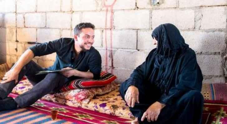 Crown Prince checks on family in Wadi Araba