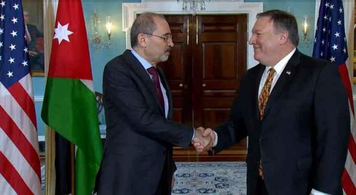 Jordan FM, Washington discuss supporting UNRWA