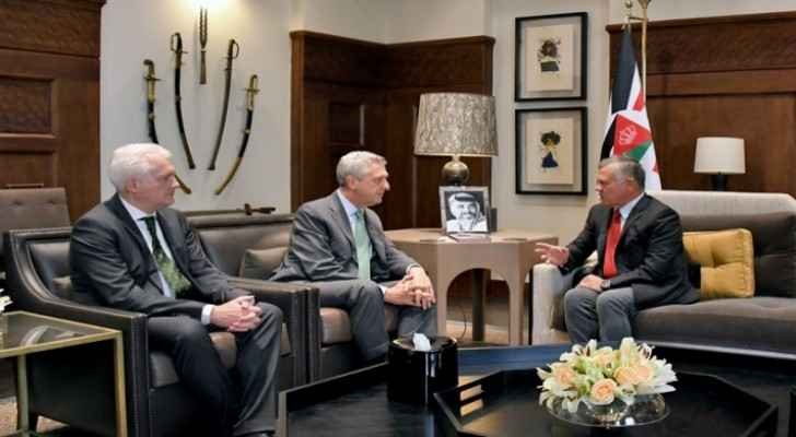 King meets with UN High Commissioner for Refugees