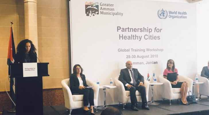 Healthy city initiative for a smoke-free Amman