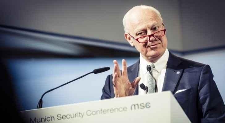 Special Envoy of UN Secretary-General on Syria, Staffan de Mistura.