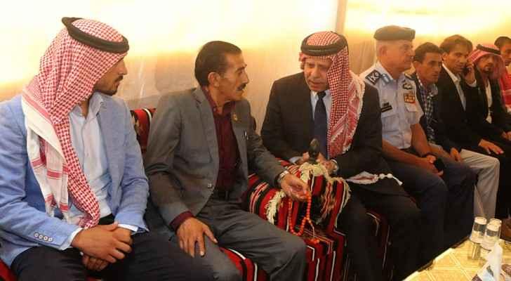 Prince Faisal visits pilot Khawaldeh family, offers condolences