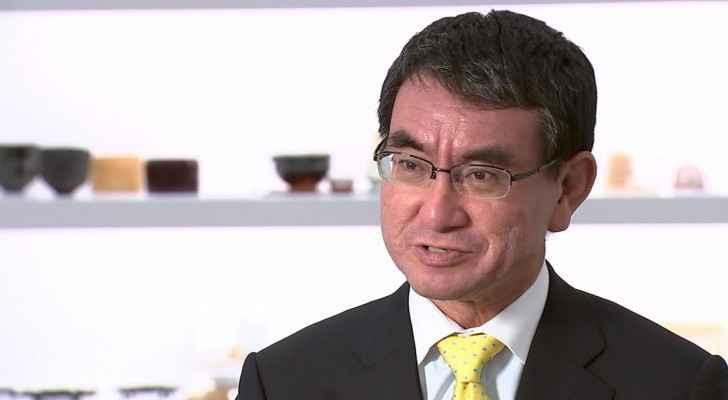 Japanese Foreign Minister, Taro Kono.