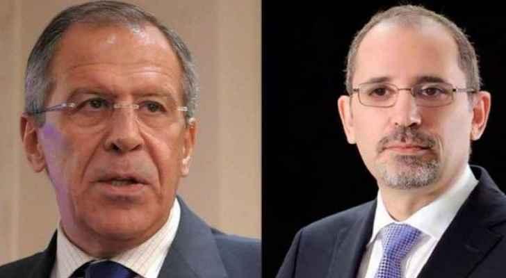 Safadi, Lavrov stress voluntary return of Syrian refugees