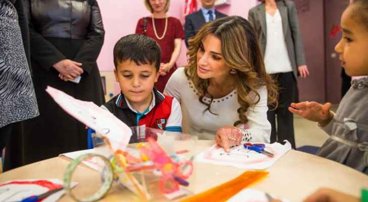 Queen Rania launches QRF Award for Education Entrepreneurship