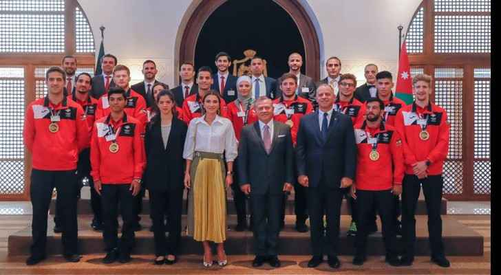 King, Queen receive national martial arts sports team