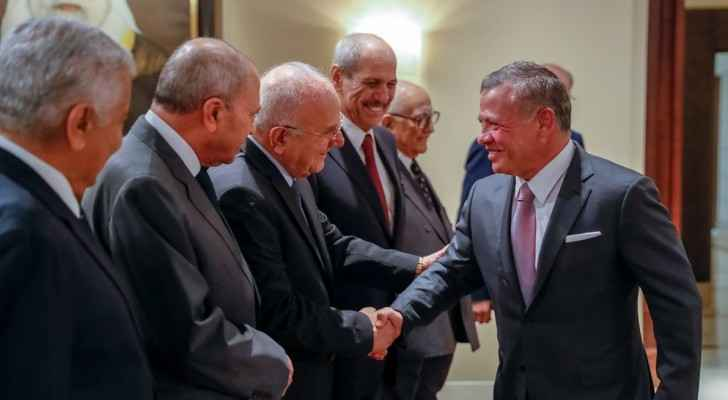 King receives World Affairs Council delegation