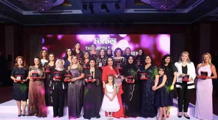 Forbes influential Arab women honored in a ceremony in Dubai