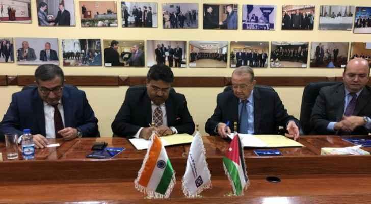 Jordan, India sign MoU to boost economy