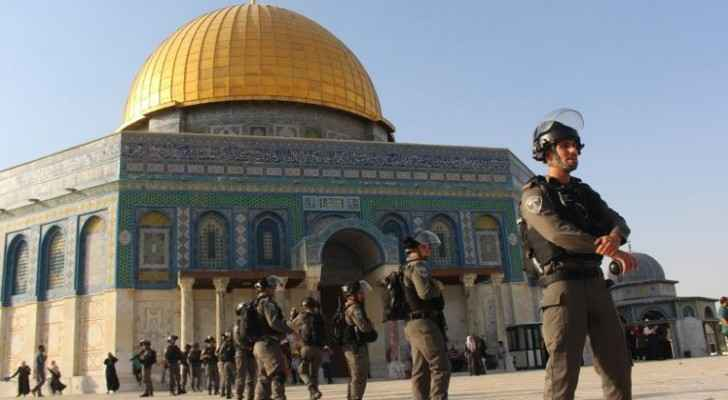 Settlers storm Al-Aqsa on Yom Kippur