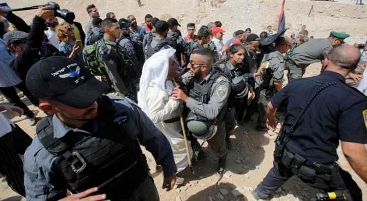 Israel wants to demolish Palestinians' houses in Khan al-Ahmar to make way for another illegal Israeli housing settlement. (Al Jazeera)