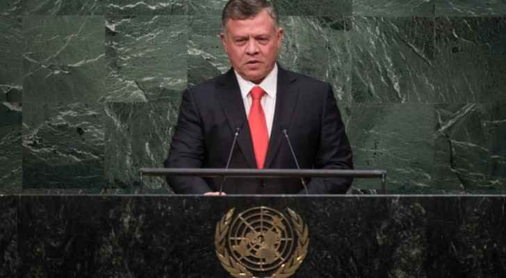King Abdullah at the 70th UNGA session in 2015. (General Debate - the United Nations)