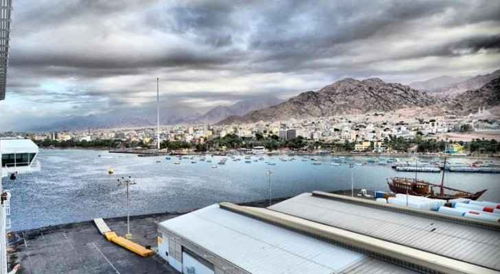 Aqaba is Jordan's only coastal city. (Emmanuel Gambarini)