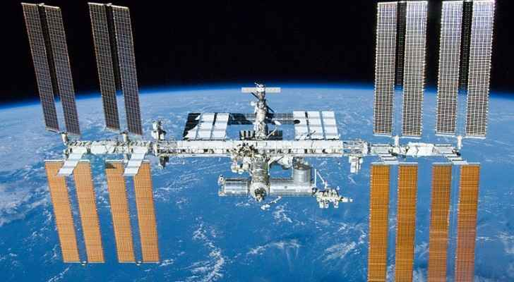 International Space Station above Kingdom tonight