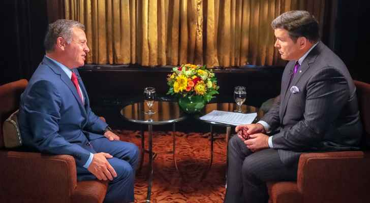 HM King Abdullah interviewed by Special Report (RHC)