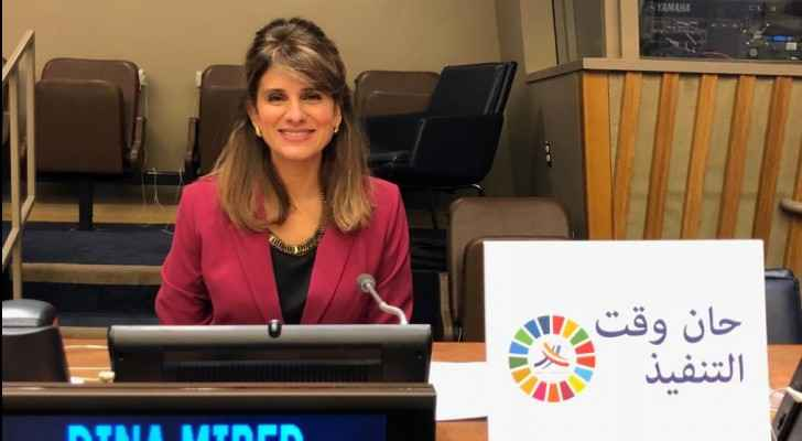 Princess Dina Mired delivers Keynote speech at 3rd UN Meeting on Non-Communicable Diseases