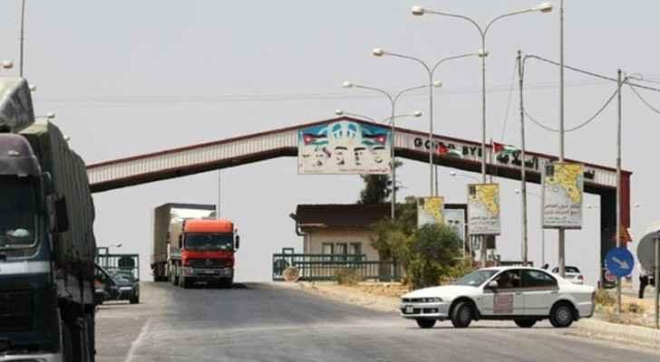 Photo of Nasib Border Crossing between Jordan and Syria