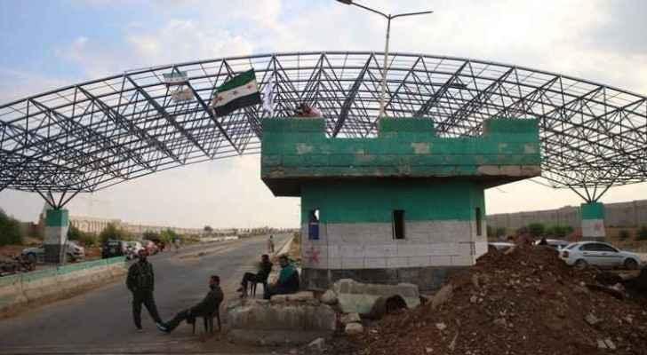 Jordan-Syria Nasib Border Crossing