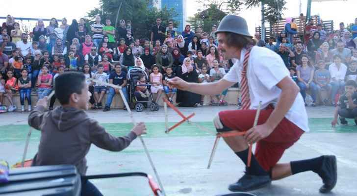 Palestine Circus Festival on its way to Amman