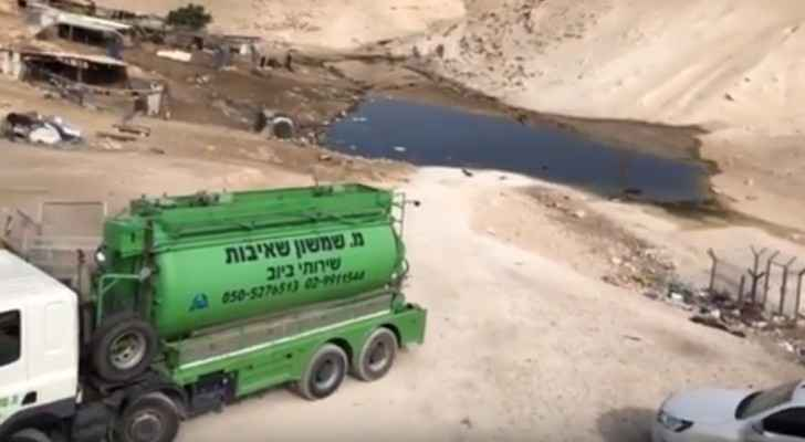 Barghouti: Israel behind flooding Khan Al-Ahmar with sewage