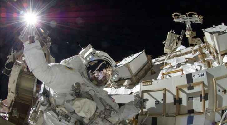 Spacewalk outside ISS