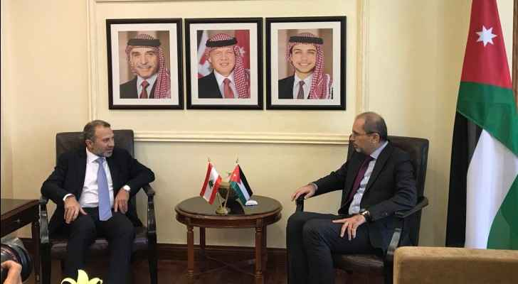 Jordanian-Lebanese FM meet, discuss bilateral issues