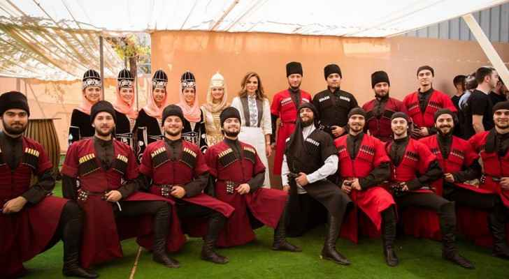 Queen visits International Circassian Cultural Academy