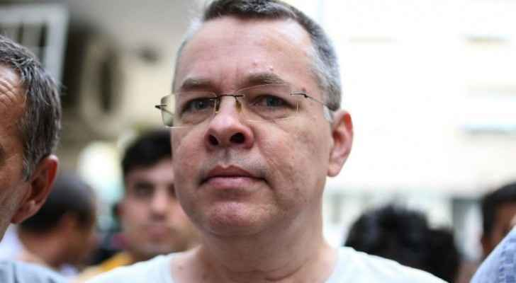 Brunson was freed after two years arrest (AFP)