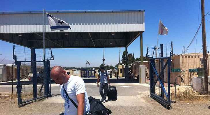 Quneitra Crossing border between Syria and Israeli-occupied area of the Golan Heights (Wikipedia)