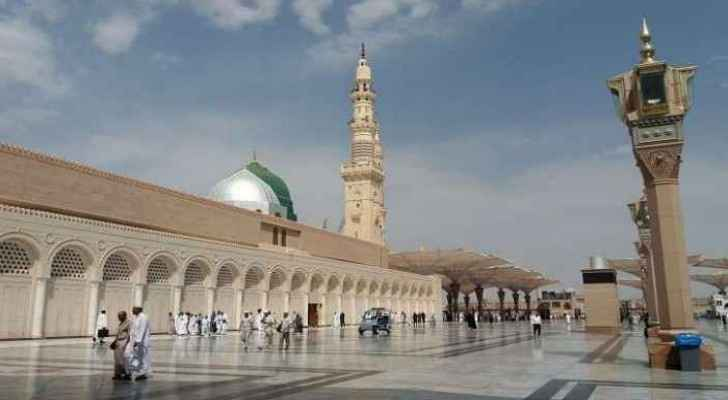 Prophet's Mosque (Al-Masjid an-Nabawi) in Saudi Arabia