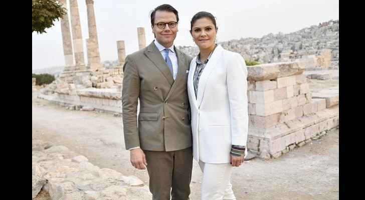 TRH Crown Princess Victoria and Prince Daniel of Sweden