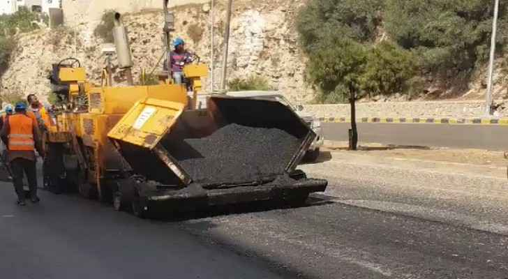 Greater Amman Municipality announces partial closure to pave these streets (names)