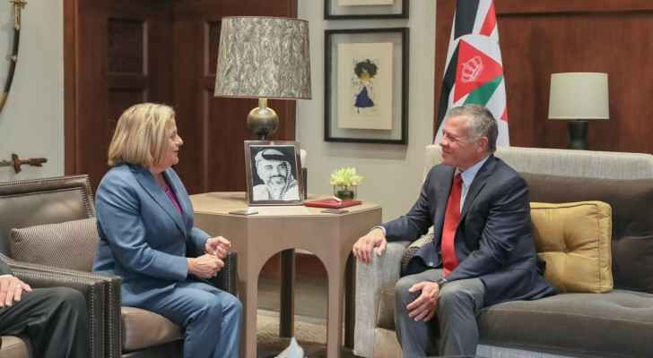 King receives US Chairwoman of Foreign Affairs Subcommittee