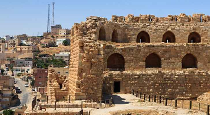Overview of Karak Castle (Qala'a) (Archived Photo)