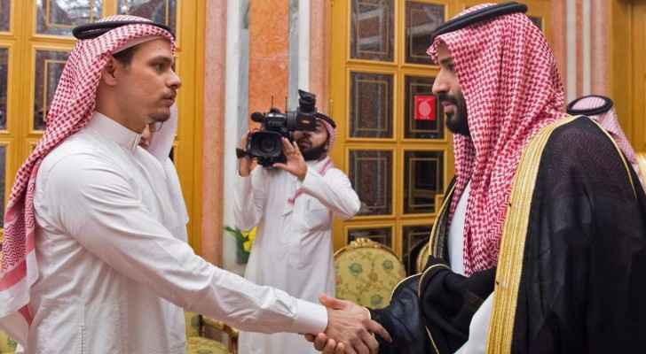 Saudi Crown Prince MBS condoles Jamal Khashoggi's son