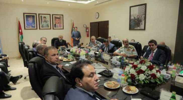 Razzaz meeting with the CDD