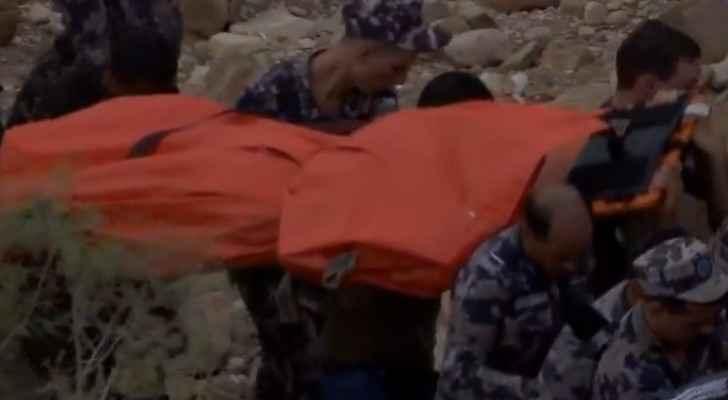 Ten dead, tens missing in Wadi Zarqa Ma'in Dead Sea