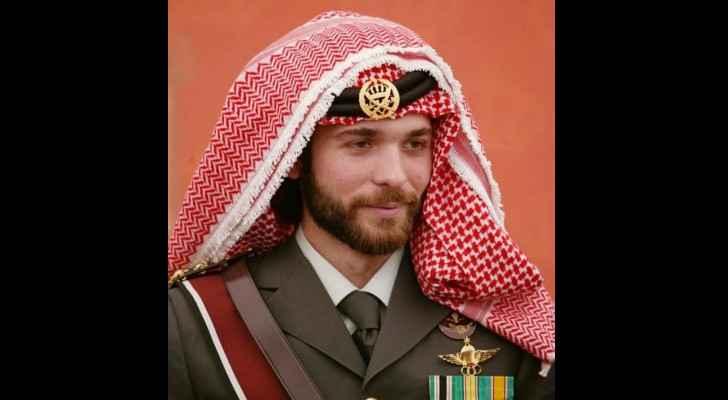 HRH Prince Hashim bin Hussein.