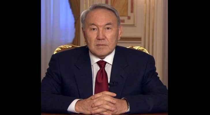 President of Kazakhstan, Nursultan Nazarbayev.