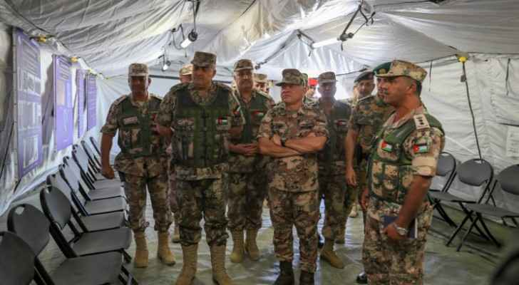 King attends, participates in JAF tactical exercise