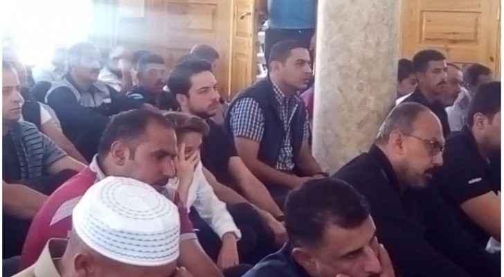 HRH Prince Al Hussein and Prince Hashim.