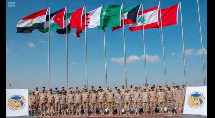Escalation of joint military manoeuvres in Arab region