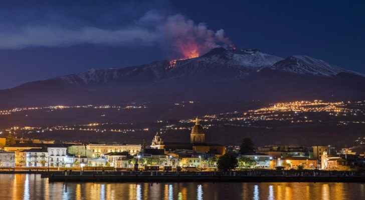 Scientists: Italian volcano 'Etna' can cause a tsunami if it collapses into sea