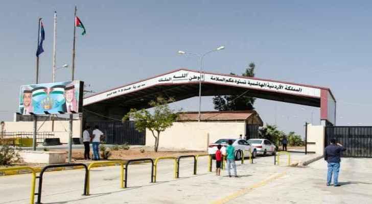 Jordanian-Syrian Jaber-Nasib border crossing. (Photo: Nadia Bseiso)