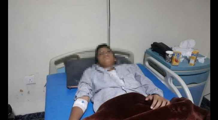 The student is still in hospital. (Al Ghad)