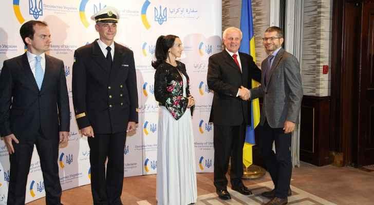Ukrainian Embassy celebrates its National Day