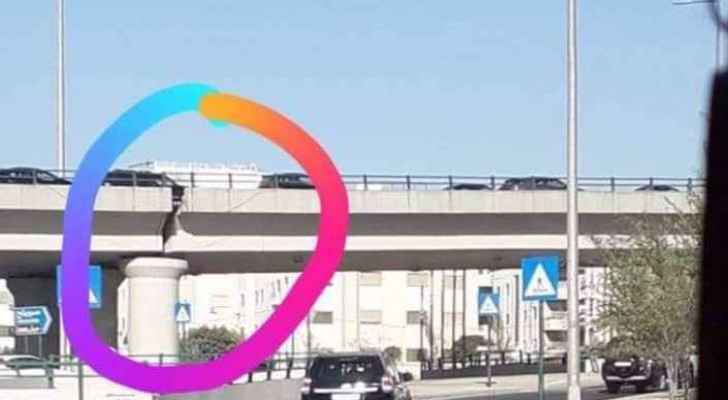 Al Nahda Bridge (towards the airport road)
